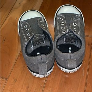 Converse Shoes - Barely Worn Converse Kids Slip-On Shoes